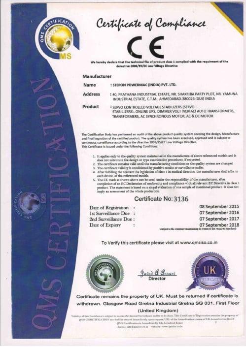 tn certificate